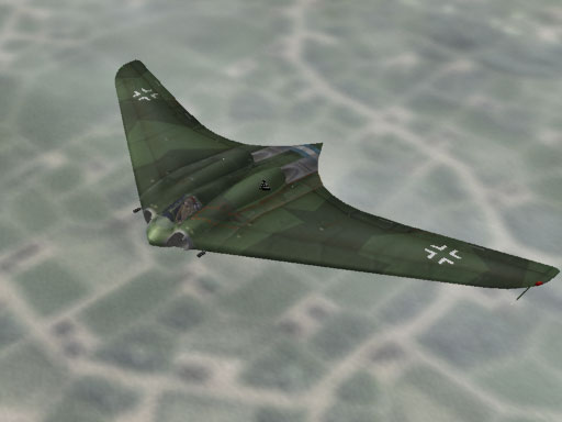 Os projetos secretos nazistas da II Guerra utilizados pós-guerra  Fbb_go229av
